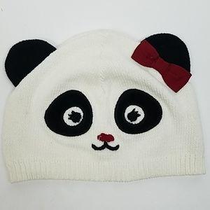 🍋BUY ONE GET ONE Gymboree Panda Hat 0-12mths